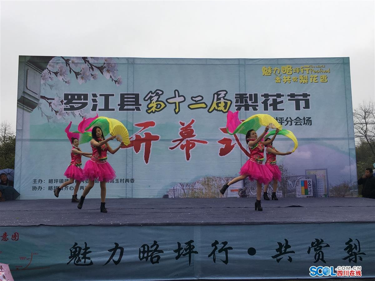 罗江梨花节_罗江县第十二届梨花节略坪镇分会场今日开幕