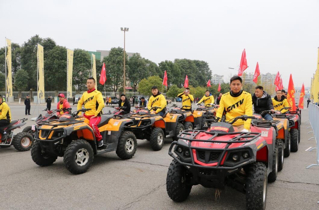2018中国全地形车锦标赛罗江站今日发车